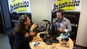 Interview par Radio Intensité