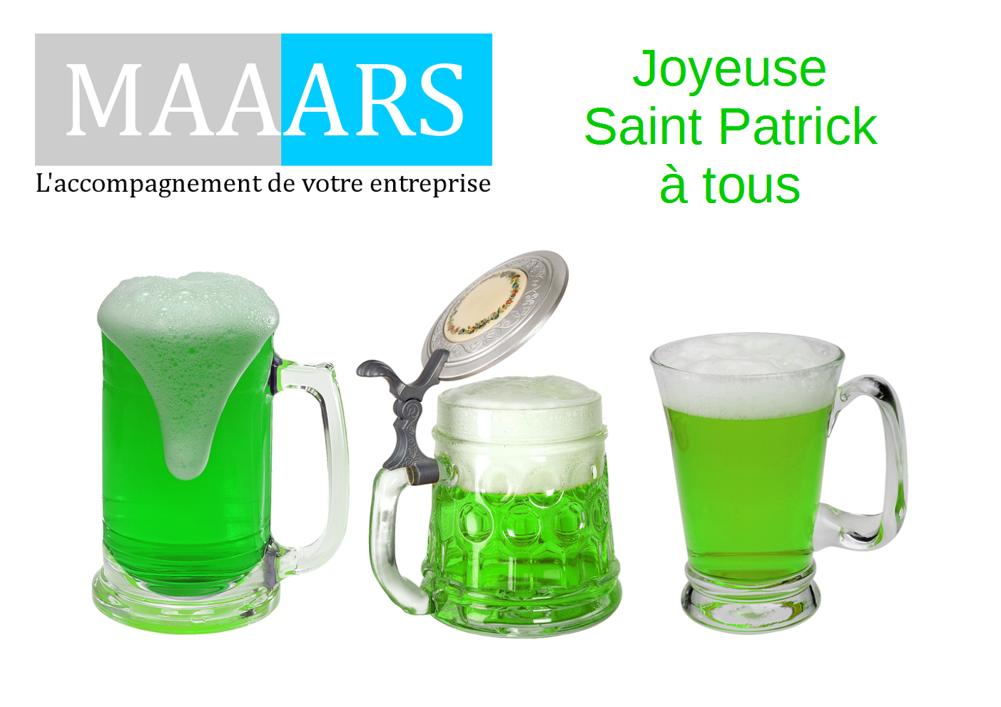 Joyeuse Saint Patrick à tous